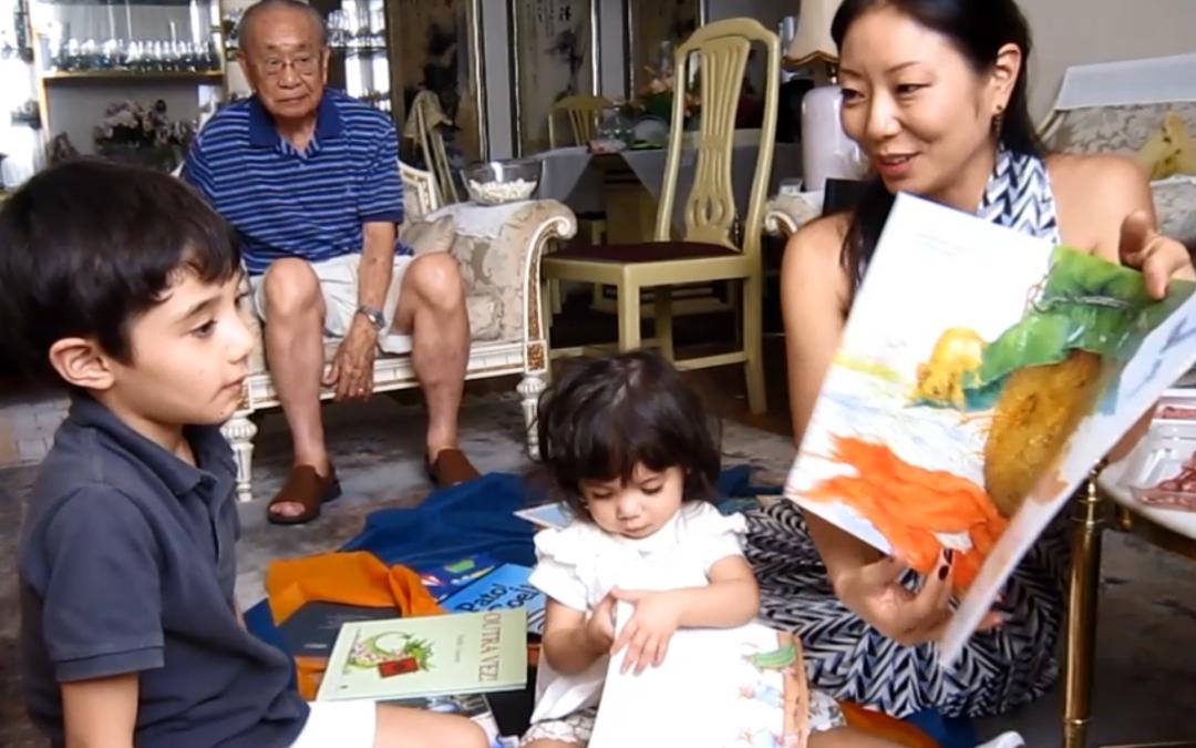 Mediação de leitura na primeira infância