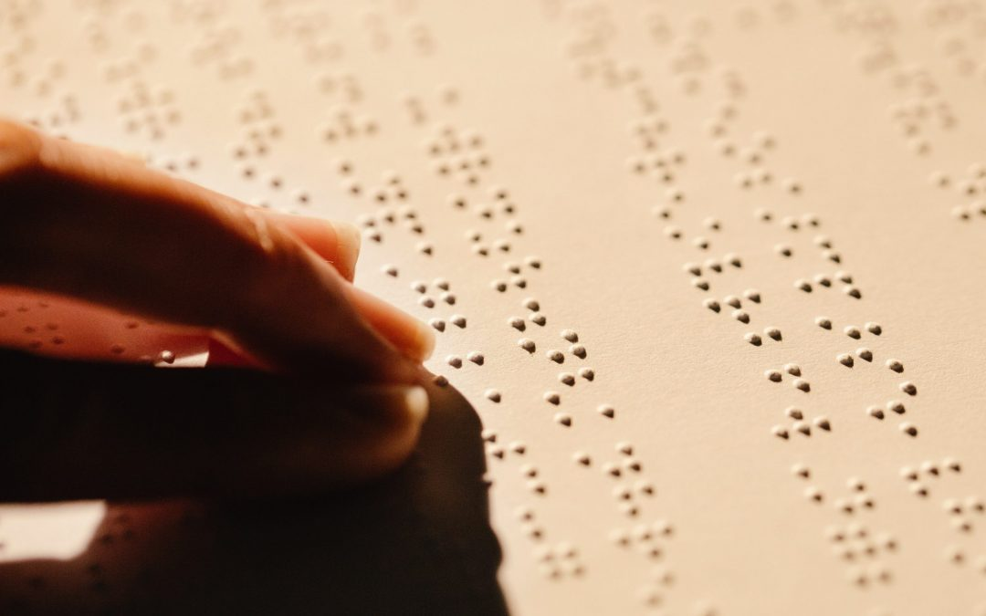 Desafios da leitura em braille