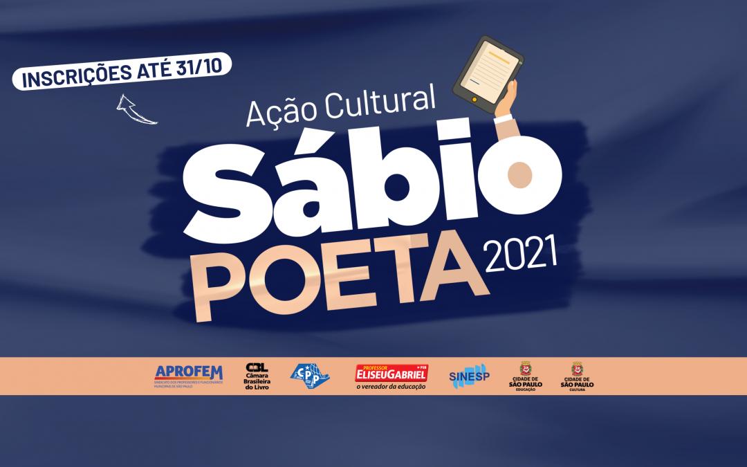 Sábio Poeta 2021 tem inscrições abertas até outubro