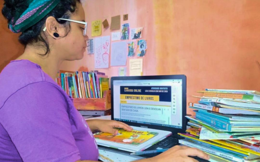Biblioteca cria delivery de livros infantis no Perus
