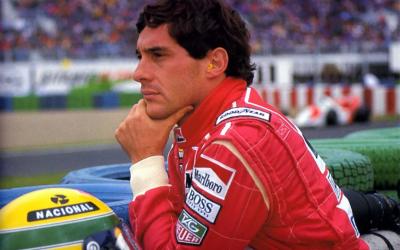 Ayrton Senna ganha holograma e tem voz recriada em mostra